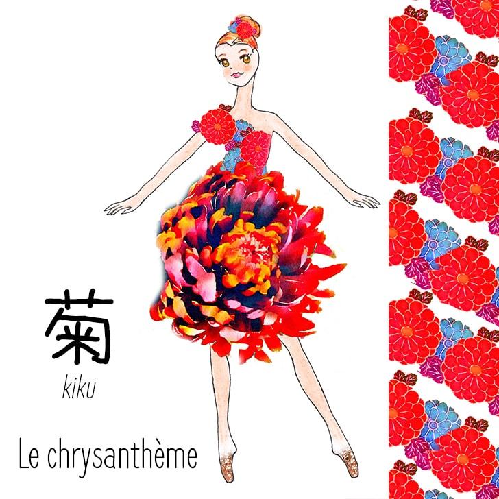 Kiku (Fleur Japonaise) : Le chrysanthème