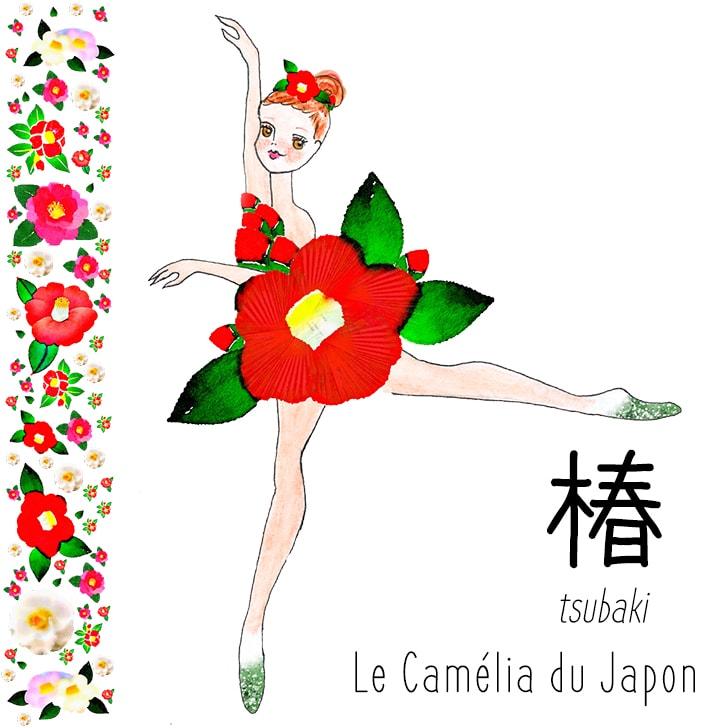 Tsubaki (Fleur Japonaise) : Le Camélia du Japon