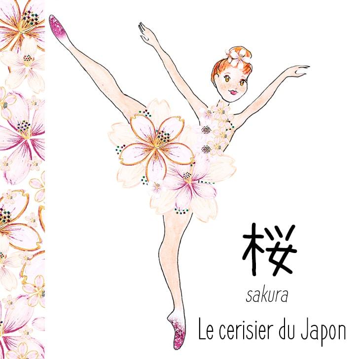 Sakura (Fleur Japonaise) : Le cerisier du Japon