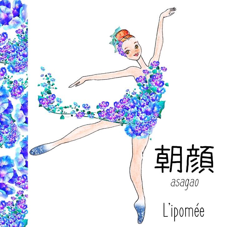 Asagao (Fleur Japonaise) : L'ipomée