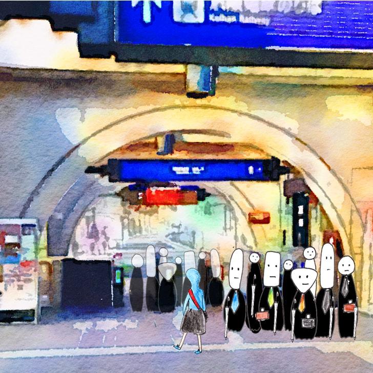 Cléa prend le métro : Les transports en commun à Kyôto