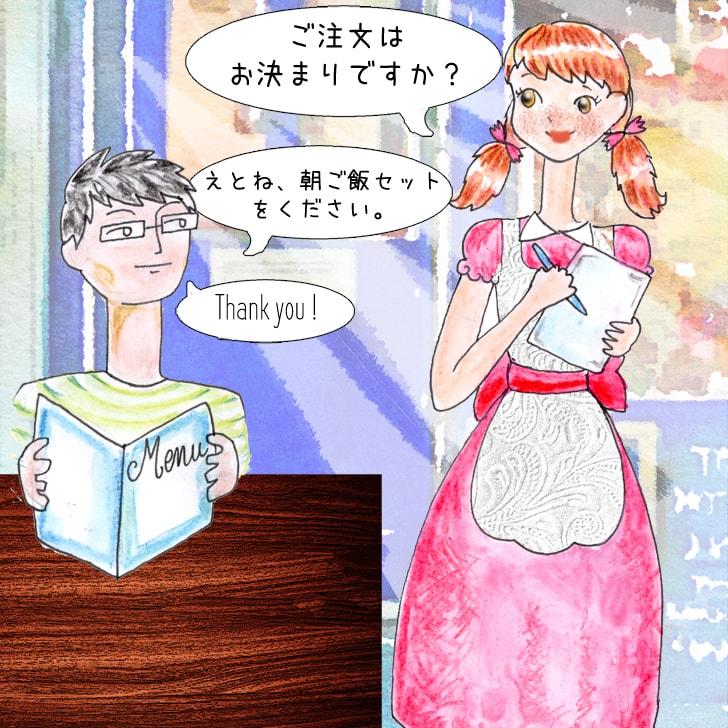Passer une commande en japonais