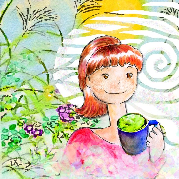 Cléa Parapluie, une jeune étudiante partie vivre au Japon