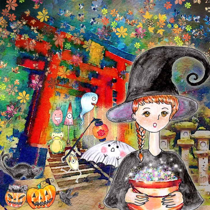 Halloween Illustration : Fêter Halloween au Japon