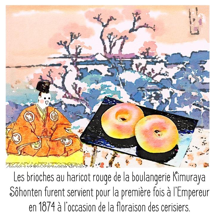 Histoire de pain aux haricots rouges recette japonais
