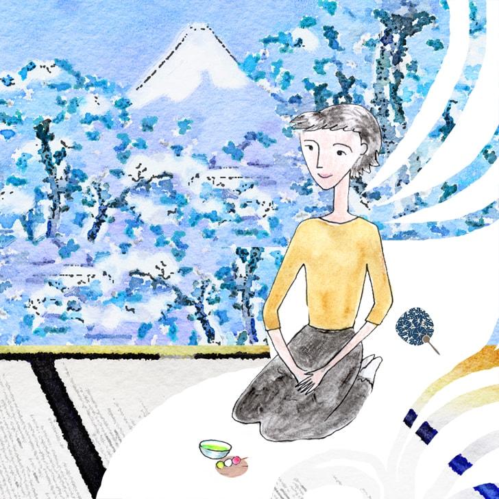 Yamanaka Shizuka, fille de Fudeko de nature timide